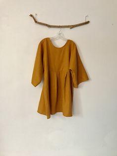 custom linen tunic by Anny