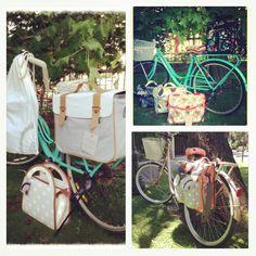 Alforjas y bolsos para tu bicicleta Sabo    #accesorios #vintage #bicicletas #bicilovers #bike disponibles en www.velochic.cl Stgo. Chile