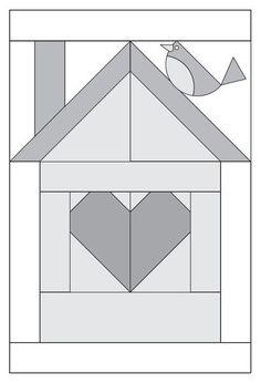 Moda Be My Neighbor Free Block Pattern                                                                                                                                                                                 More