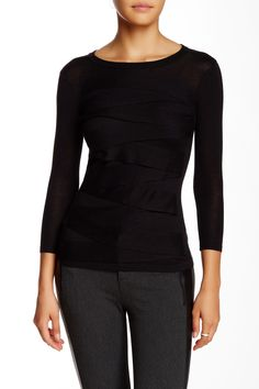 Zigzag Sweater (Petite) by Vince Camuto on @nordstrom_rack