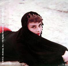 Rare Audrey Hepburn — Audrey Hepburn photographed by Milton H. Greene in...