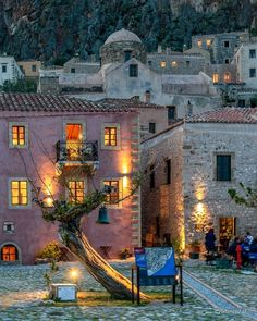 Discover Monemvasia: in the Peloponnese, a mediaeval castle welcomes you to a destination right out of a fairy tale! Photo by . Greece Vacation Packages, Monemvasia Greece, Greek Island Hopping, Paris France Travel, Travel Expert, Greece Islands, Beautiful Places In The World, Canada Travel, Greece Travel