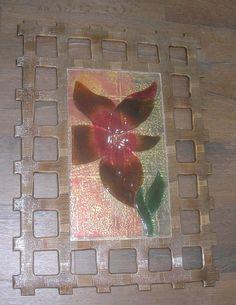 Χειροποίητη δημιουργία μου σε ξύλο-γυαλί φιούζινκ-υπάρχει δυνατότητα διαφοροποιήσεων. Rugs, Painting, Home Decor, Art, Farmhouse Rugs, Art Background, Decoration Home, Room Decor, Painting Art