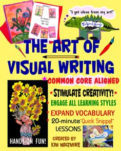 Book on creativity Informational Writing, Informative Writing, Paragraph Writing, Learning Styles, Creative Writing, Special Education, Vocabulary, Books To Read, Thats Not My