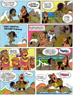 Los comics de Machete: Mampato y Ogú: Rapanui Character Design, Comic Books, Art, Easter Island, Islands, Art Background, Drawing Cartoons, Kunst, Comic Book