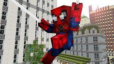 REALISTIC MINECRAFT ~ SPIDERSTEVE - YouTube