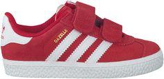 essentiele Rode Adidas Sneakers GAZELLE KIDS
