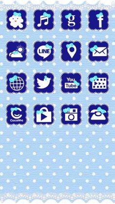 #CocoPPa #kawaii #girly #cute #ribbon #blue #music