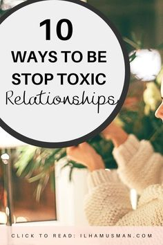How to cut off toxic people