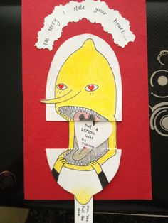 Adventure Time Creepy Lemongrab Valentine This is amazing Adveture Time, Land Of Ooo, Finn The Human, Jake The Dogs, Bubbline, Marceline, Cool Cartoons, Nerdy, Creepy