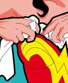 Secret Hero Life by Grégoire Guillemin - Wonderwoman