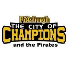 love the buccos through thick and thin....... its just been the thick since i've been alive