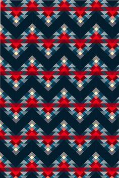 triangulos pattern