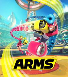 Arms makes its debut in the Nintendo e-shop and at retail today. Nintendo's new fighter Arms is out today and everyone should be rejoicing. Video Games Xbox, Xbox One Games, Arms Switch, Arcade, Video Game Reviews, Arm Art, Little Games, Nintendo Switch Games, Fighting Games