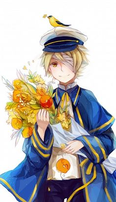 Vocaloid oliver :)  Oliver is cute! He has always been one of my faves.@-@