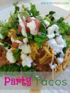 Party Tacos Recipe