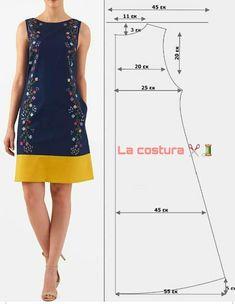 T Shirt Sewing Pattern, Dress Sewing Patterns, Clothing Patterns, Fashion Sewing, Diy Fashion, Fashion Outfits, Sewing Clothes, Diy Clothes, Costura Fashion