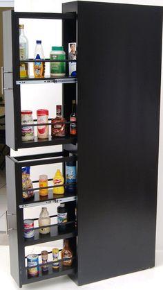 Food Storage Cabinet, Diy Kitchen Storage, Kitchen Items, Kitchen Organization, Kitchen Furniture, Kitchen Interior, Interior Design Living Room, Kitchen Decor, Pantry Design