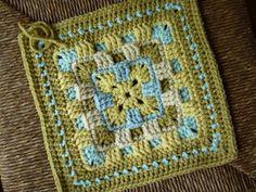 Ravelry: Brighter Daze Square pattern by Melissa Green
