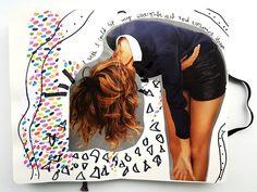 @julia_t  | Season of Introspection | Get Messy Art Journal | Creative Team Inspiration