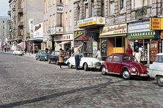 """Stuttgarter Platz, Charlottenburg"" (Charlottenburg is an affluent locality of Berlin) West Berlin, 1963 Kino Berlin, Berlin Zehlendorf, Berlin Photos, Berlin Wall, East Germany, Berlin Germany, Volkswagen, Berlin Hauptstadt, As Time Goes By"