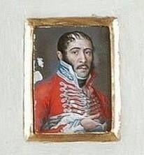 Tcol. Húsares. Época Guerra de la Independencia. Probablemente Húsares de Mª Luisa