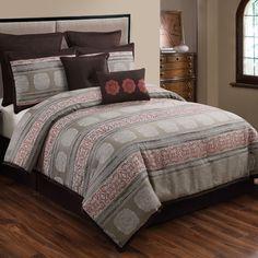 HFI Pauline 8 Piece Comforter Set & Reviews   Wayfair