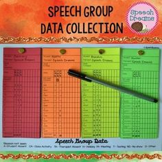 This is the perfect way to individually track the progress during each session for each student all on one data collection form!  Track a group of students who are working on the same or different goals using these group data strips.  Every sound in every position, plus blends!