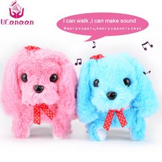 $16.56 - Awesome UCanaan Electronic Interactive Toys Education Toys Walking Sounding Robot Dog Toys Plush Dog Best Gifts for Children - Buy it Now!