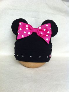 Items similar to Girls Minnie Inspired Hat ba76a4a5c71