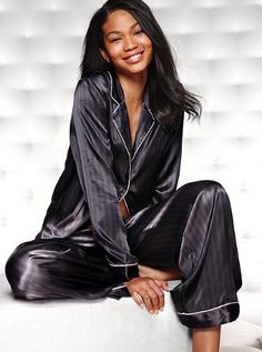 The Afterhours Satin Pajama - Victoria's Secret