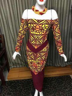 Ethnic Fashion, African Fashion, Samoan Designs, Samoan Dress, Different Dress Styles, Disney Princess Fashion, Island Wear, Princess Style, Dress Patterns