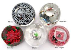 Glass Paperweights: Farfalla Paperweights -The World of Paperweights - Archiv