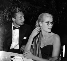 #GraceKelly and #OlegCassini -- #BowTie