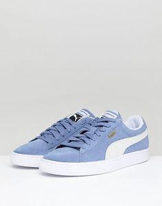 Chaussures De Sport Turquoise Faible Arc En Daim / Lumière Bleu Pumas PA2smxOBj