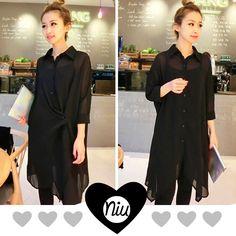Bluson tipo vestido negro, va con todo!!! conoce esto y mucho más en: www.niuenlinea.co