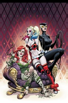 Harley Quinn Rebirth #1 Variant by Joe Benitez for Comic Hero University