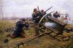 La guerre franco-prussienne de 1870-71 » Peintures