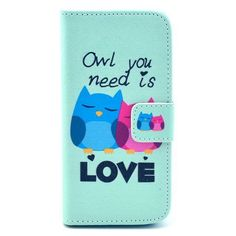 For iphone SE Wallet Style Flip Case with Cute OWL Print For Apple iphone 5  5S 3924062d8c298