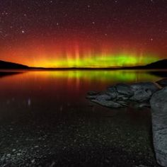 Astrophotographer Mike Taylor sent this photo showing an aurora at Moosehead Lake, Maine. Taylor took the photo on Oct. 10, 2013 at 1:22 a.m...