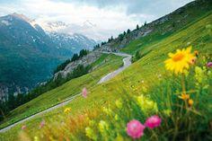 Высокогорная дорога Гросглокнер , Австрия, Вена / Mountain Grosglokner Road, Austria, Vienna