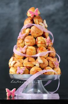 Croquembouche wedding tower