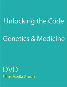 Unlocking the Code: Genetics & Medicine - Although the impact of genetic research on human life is an ever-changing and often theoretical prospect, our current knowledge of the human genome already has direct, real-world applications. This program looks at several ways in which genetic breakthroughs have improved health care technology and enriched the study of human physiology.