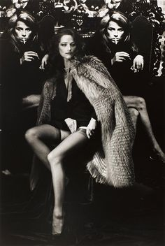Charlotte Rampling   paris, 1982   Helmut Newton
