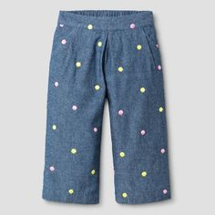 Baby Girls' Fashion Pant Genuine Kids® from OshKosh® - Chambray : Target