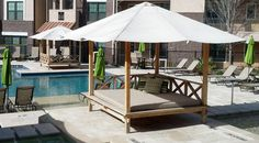 Sweetwater Cabana Outdoor Furniture, Ultimate Daybeds for Outdoor Living.