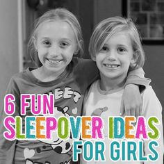 Has your daughter been begging you for a sleepover party? Maybe it's just one or two friends or maybe she wants an all out slumber party extravaganza, either way you need to be prepared! First thing is be sure she is ready for this kind of event and if you feel like she is, then it's tim