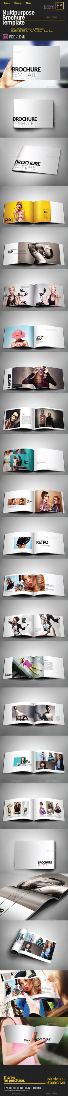 Multipurpose Catalogs / Brochure / Portfolio #photographer #clean  • Download here → https://graphicriver.net/item/multipurpose-catalogs-brochure-portfolio/10863847?ref=pxcr