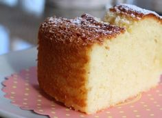 bizcocho de yogur muy esponjoso Yougurt Recipe, Cake Recipes, Dessert Recipes, Desserts, I Chef, Yogurt Cake, Natural Yogurt, Sin Gluten, Vanilla Cake
