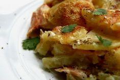 Πανσέτα, μανιτάρια και τριών λογιών πιπέρια. Οι σημερινές πατάτες ογκρατέν έχουν απ' όλα, χορταστικές, εύκολες στην ετοιμασία, αρκεί να πετύχετε γευστική μπεσαμέλ.